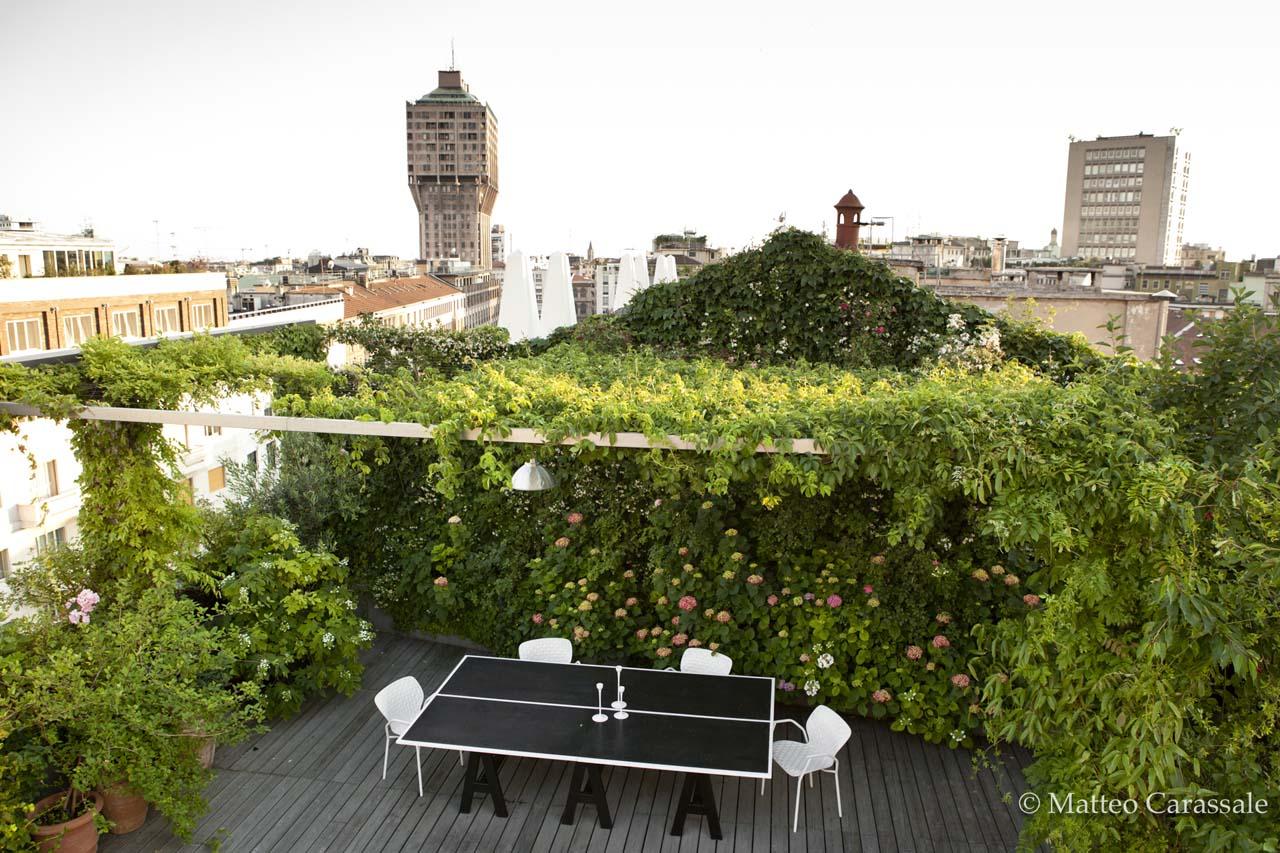 Terrazza A Milano Architettura E Paesaggio Filippo Pizzoni